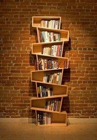 Another unique bookshelf