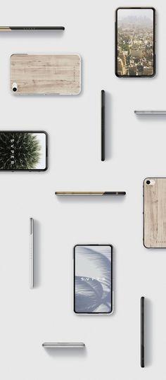 SVPER phone / ID + UI Smartphone Concept on Industrial Design Served