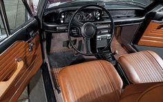 1972 BMW 2002tii Malaga Survivor For Sale Interior