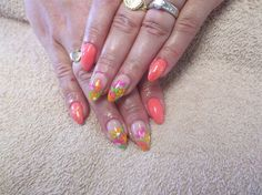 Flowers nail art (from 2015) by irinavk2 from Nail Art Gallery