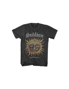 Sublime Logo Stamp Sun Mens T-Shirt - Guaranteed Authentic.  Fast Shipping.