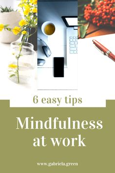 Especially at your workplace you might find it more difficult to calm your mind but it's easier than you think to practice mindfulness at work. Mindfulness At Work, Mindfulness Quotes, Mindfulness Meditation, Mindfulness Activities, Ways To Reduce Stress, Stress Relief Tips, Clear Your Mind, Meditation Quotes, Mindful Eating