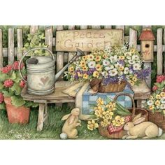 Peace Garden Jigsaw Puzzle $16.99