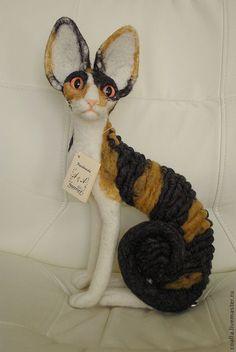 Кошка порода Корниш рекс