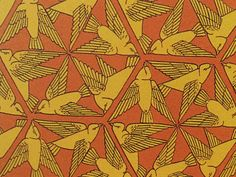 1897 bird in triangle formation print. I would change the colours.