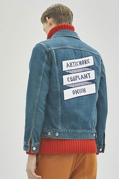 GENTLEMAN 2015 Fall/Winter Editorial by honeyee: Impeccably-styled looks for the colder season. Men Street, Street Wear, My Life Style, Man Style, Denim Jacket Patches, Lookbook, Denim Fabric, Preppy Style, Mens Fashion