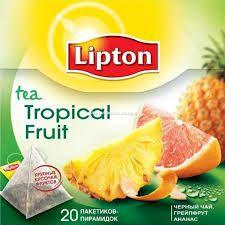 pirámides de té lipton - Tè tropical