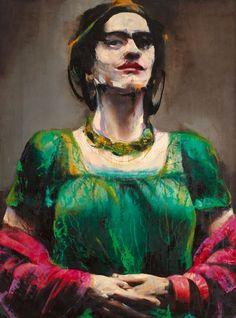 Frida, by Lita Cabellut.