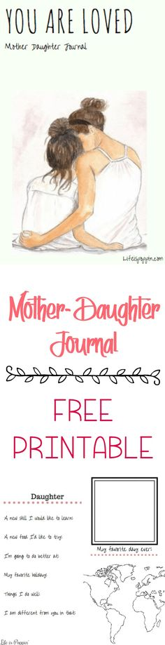 The time we have to actually sit down and talk to our daughters gets to be less and less the older they get. This Mother-Daughter Journal is the perfect way to keep communication flowing.
