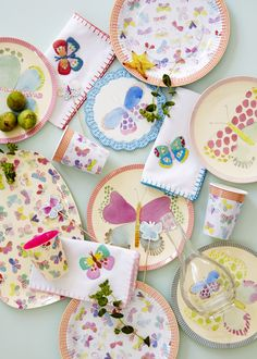 Butterfly kitchenware is a fun take on a traditional look. More decorating ideas at www.redonline.co.uk