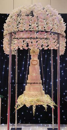 Asian Wedding Cakes (decorating cakes table)