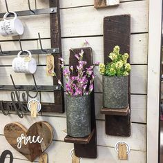 """571 Likes, 4 Comments - Simply Inspired, Mike & Patti (@thesimplyinspiredshop) on Instagram: """"🌿20% OFF: set of 2 Barnwood Wall Shelves >> marked down to $44 for the set in our Etsy Shop .…"""""""