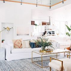 We are crushing hard on the Gray Peach Trend New products in the shop Link in Bio Photo via glitterguide bohostyle boho bohochic beautiful bohoglam flashesofdelight theeverygirl interiordesign interiors inspo interiorstyling interior interiorinspo white glam glamour whitesofa textures textile fringe sodomino lonnymag mydomaine