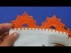 *** Bico de crochê carreira única #145 - YouTube