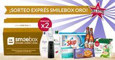 Resultados de probar productos: Sorteo SmileBox Oro All Star 2016