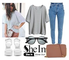 """""""Sheinside #5"""" by olga05 ❤ liked on Polyvore featuring мода, Vetements, Nly Shoes и Michael Kors"""