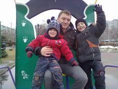 Александр Баженов, дети, Старый Оскол, фотографии