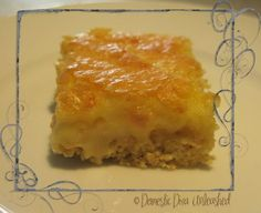 Domestic Diva: Sticky slice. Deliciously sweet and finger lick'n good!