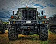 Amazing Russian/Ukranian Monster Truck KRAZ 255 B 6x6