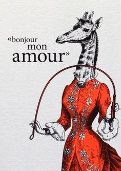 BUTT Papierkram - Bonjour mon amour