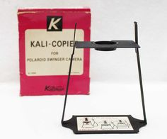 Kalimar Kali Copier for Polaroid Swinger Camera K 1699 Japan | eBay