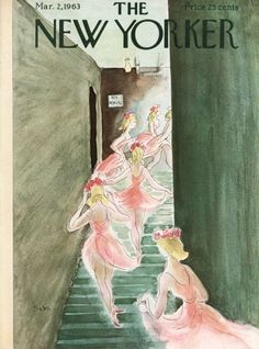 The New Yorker - Saturday, March 1963 - Issue # 1985 - Vol. 39 - N° 2 - Cover art by Susanne Suba The New Yorker, New Yorker Covers, Vintage Posters, Vintage Art, Vintage Ephemera, Room Posters, Poster Wall, Vintage Magazines, Tardis