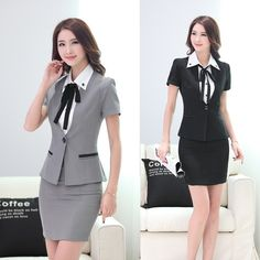 Asian Ladies in Tight Skirts 6 Corporate Wear, Work Fashion, Asian Fashion, Fashion Outfits, Skirt Outfits, Cute Outfits, Suits For Women, Clothes For Women, Casual Chic Style