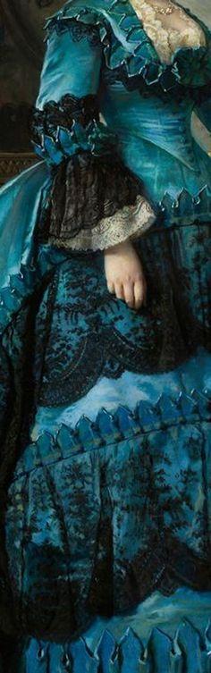 Art, details, veils, sensuality and naivety!