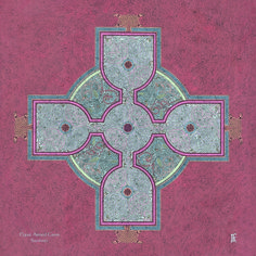 Celtic Shields & Mandalas : Celtic Equal Armed Cross by Jeff Fitzpatrick Adams Irish Celtic, Celtic Art, Celtic Shield, Abstract Geometric Art, Arms Crossed, Craft Gifts, Art Quotes, Philosophy, Crafts