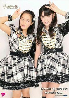 Oda Sakura & Sayumi Michishige