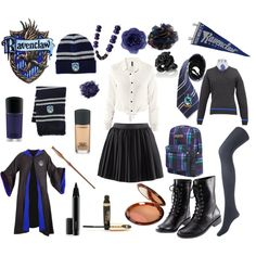Ravenclaw Uniform Ideas (okay maybe not the cape and stuff)