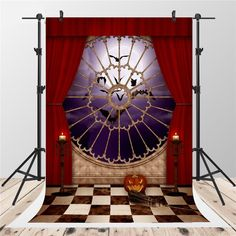 Purchase Halloween Party Photography Backdrops Red Curtain Background for Photographer Pumpkin Backdrop Booth from Andrea Marcias on OpenSky. Share and compare all Electronics. Halloween Photography Backdrop, Halloween Backdrop, Party Photography, Background For Photography, Photography Backdrops, Halloween Party, Foto Fun, Christmas Backdrops, Castle Background