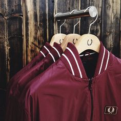 Tipped Bomber Jacket - AW13 Fred Perry Men's Authentic Collection