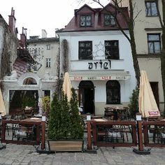 Kazimierz cafe & hotel - Krakow, Poland - we had an amazing evening here: great food, live klezmer music, lovely atmosphere! Oh The Places You'll Go, Places To Travel, Hotel Krakow, Poland Travel, Krakow Poland, Central Europe, Eastern Europe, Countries Of The World, Wonders Of The World