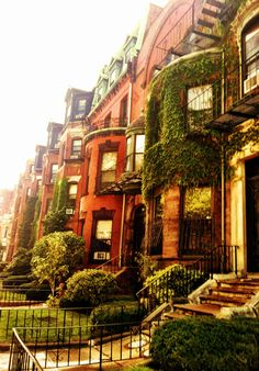 Townhouses In Boston Ma Where I have wanted to live since I was 8.