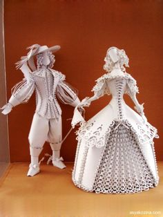 Jaw Dropping Paper Sculptures by Asya Kozina