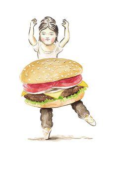 Burger Ballerina,