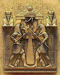 The Anunnaki gods are various and have various perspectives. Have you read my books Communications from the Anunnaki I and The Gods Speak? Egyptian Mythology, Egyptian Symbols, Egyptian Goddess, Egyptian Art, Ancient Egypt Art, Ancient Aliens, Ancient Artifacts, Osiris Tattoo, Image Tatoo
