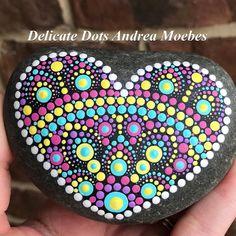 #dotart #mandala #mandalaheart #heart #heartpainting