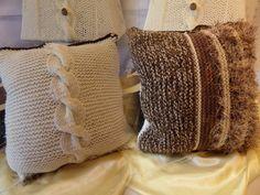 sitzpouf sitzsack pouf h keln aus textilgarn diy h keln stricken n hen filzen pinterest. Black Bedroom Furniture Sets. Home Design Ideas
