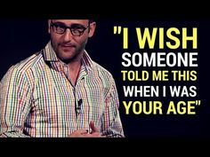Simon Sinek: The Video That Will Change Your Life About this presentation In this in-depth talk, ethnographer and leadership expert Simon Sinek reveals the h. Motivational Speeches, Motivational Quotes For Working Out, Daniel Goldman, Simon Sinek, Love Pain, Someone Told Me, Social Emotional Learning, Life Advice, Life Tips
