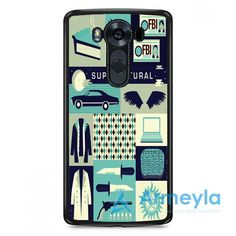 Supernatural Cartoon LG V20 Case | armeyla.com