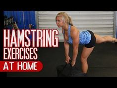 5 Best Hamstring Exercises to do at Home - YouTube Best Hamstring Exercises, Hamstring Workout, Fast Workouts, At Home Workouts, Body Workouts, 10 Min Workout, Leg Routine, Loose Belly Fat, Psoas Release