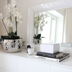 Create this gorgeous look with our 'Fine French Wine' champagne bucket and Phalaenosis Orchid.  Shop: www.abodeaustralia.com