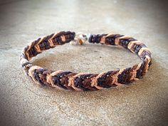 Natural Bohemian Fishbone Hemp Bracelet