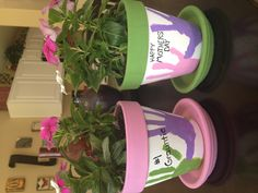 Mother's Day Flower Pots!!!