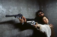 Great shot from a great film, Leon, The Professional.