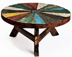 Ecologica Home - Reclaimed Wood Coffee Table Flora - Reclaimed Wood Furniture
