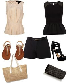 """Day & night outfit for summer"" by vita7719 ❤ liked on Polyvore"