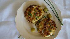 Ein tolles leichtes Mittagessen: Die Thunfisch Küchlein. ✓ glutenfrei ✓ laktosefrei ✓ nussfrei ✓ mit Blumenkohl und Oliven ➤ gesund low carb genießen